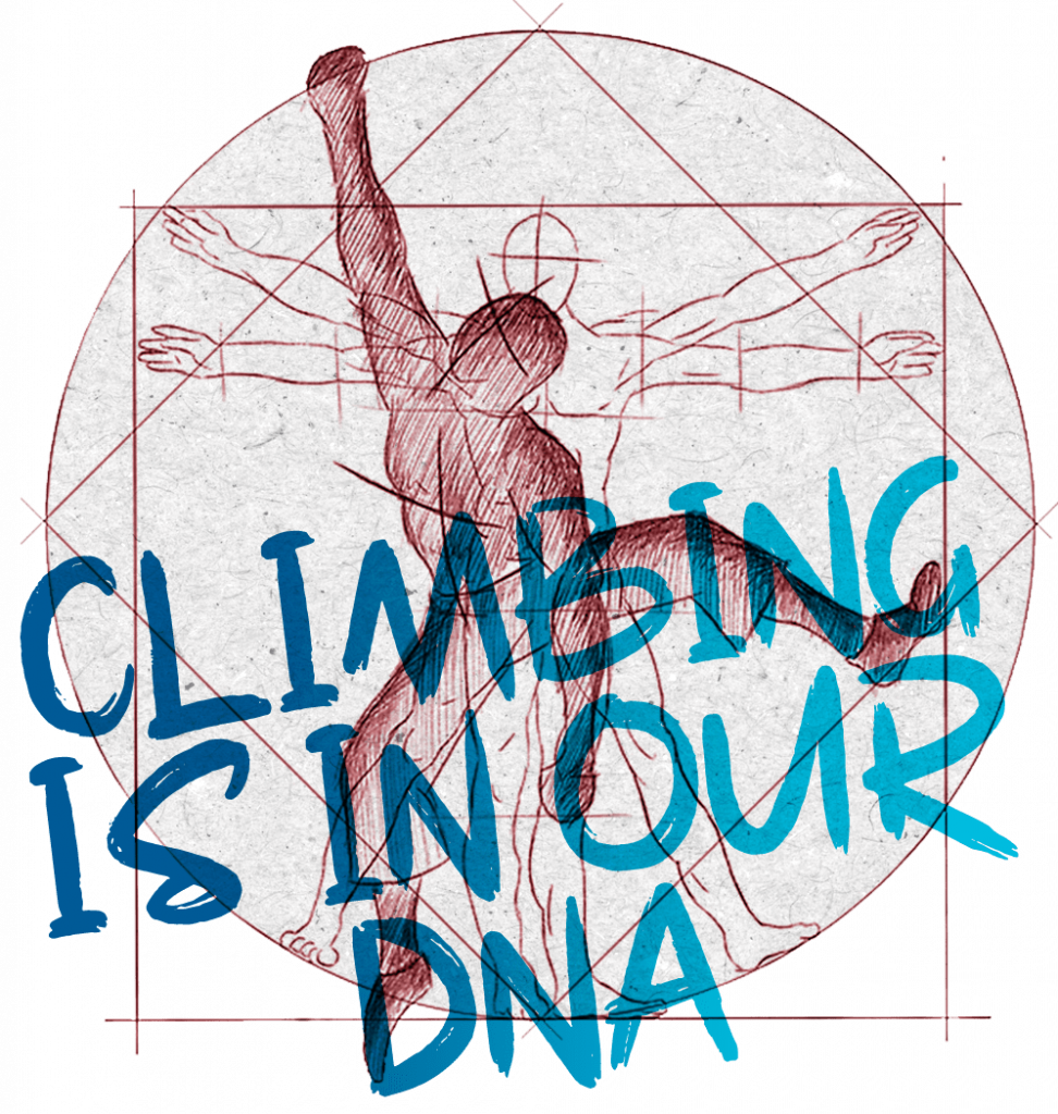 Climbing is in our DNA